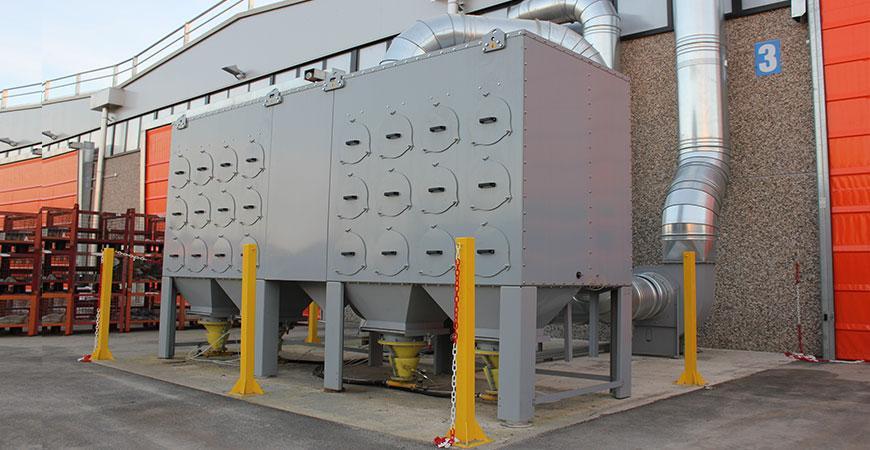 Фильтры для дыма и пыли - TECU