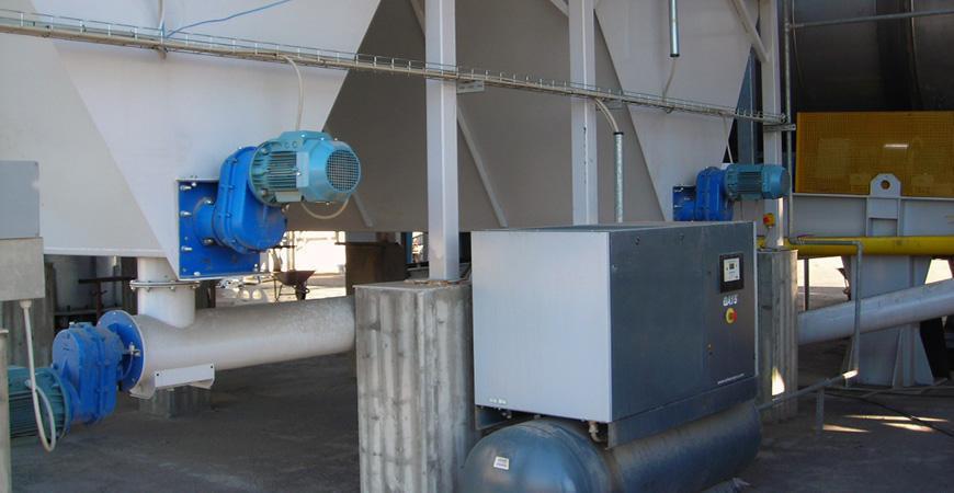 Шнековые транспортеры для асфальтобетонных заводов THF-TCF