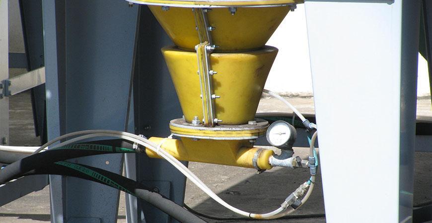 RECOFIL - Пневмотранспортная система для автоматического сбора пыли из фильтров