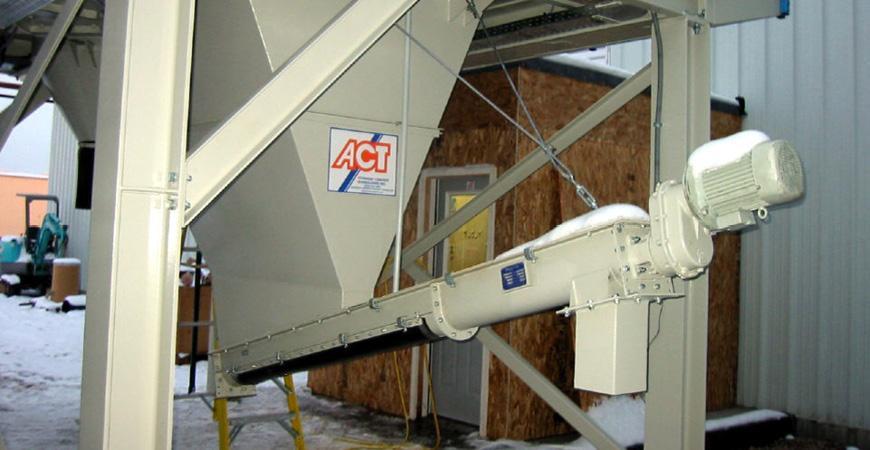 Шнековые транспортеры для свежего бетона CMC