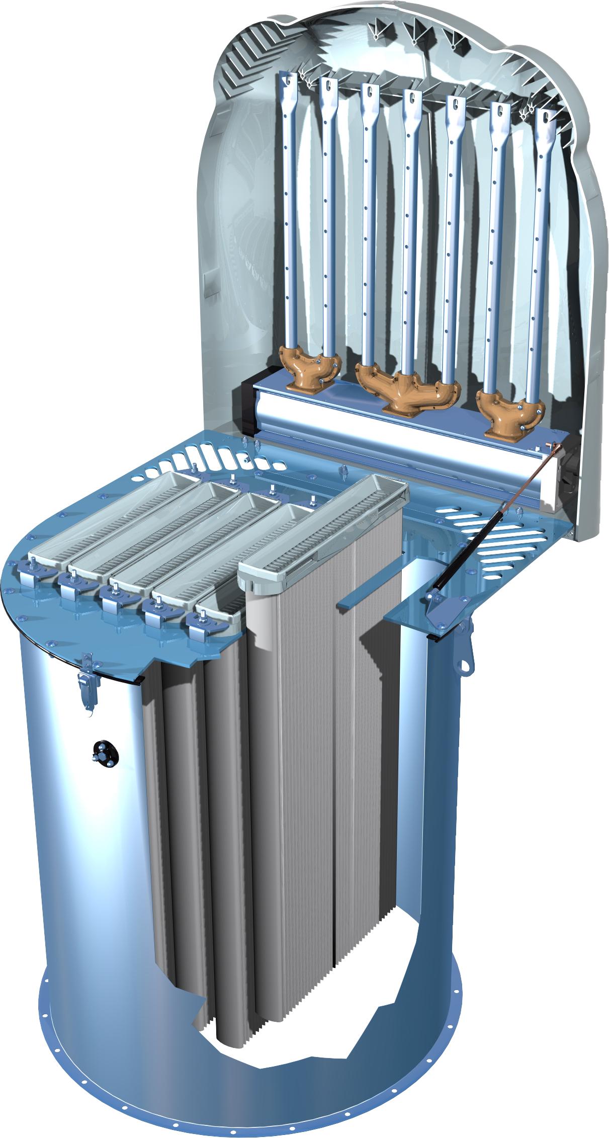Комплект фильтрующих элементов для фильтра SILOTOR